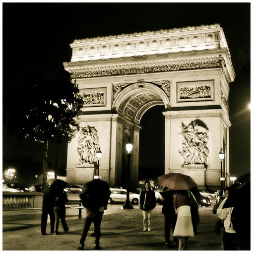streets of paris xvii