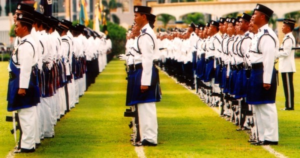 Lines The Royal Brunei Police Force