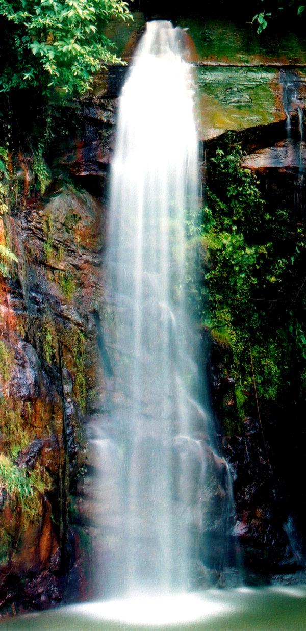Waterfall Tasek Lama brunei Darussalam