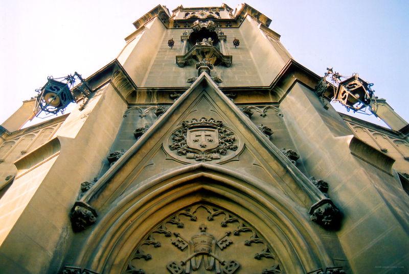 Gothic Church Santiago Chile