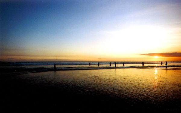 Bali Fishing Beach Indonesia