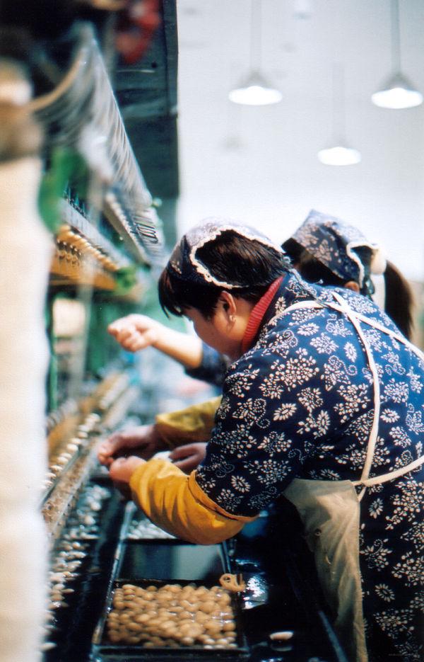 Silk Weaver Beijing People's Republic of China