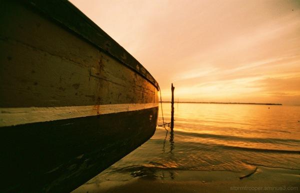 Boat Serasa Beach Bandar Seri Begawan Brunei Darus