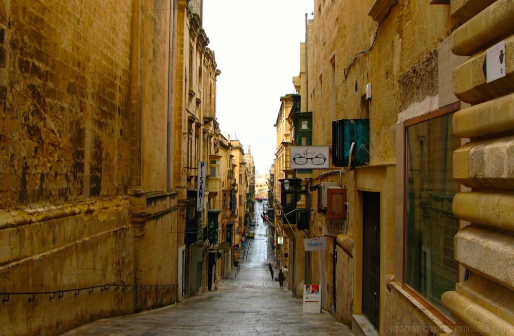 City Centre Valletta Malta Street