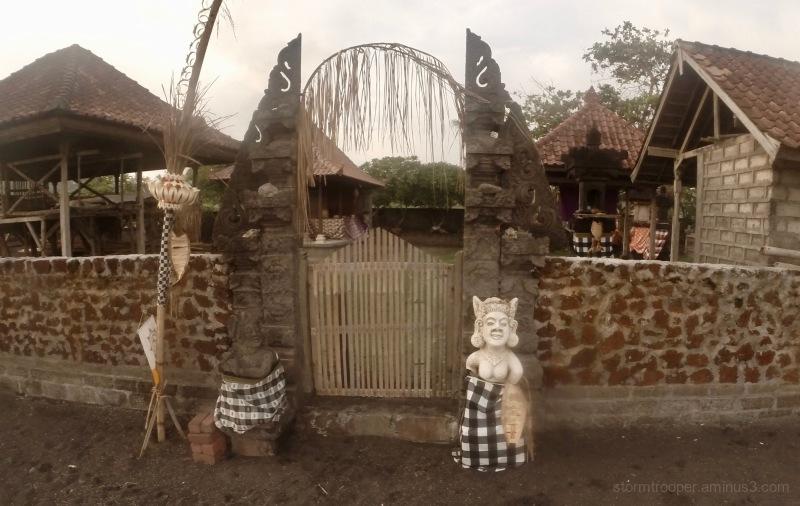 Gate Keeper Bali Indonesia GoPro