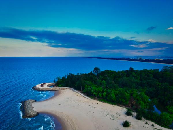 Tanjung Batu Muara Beach Brunei Darussalam