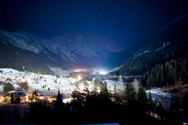 st jakob, arlberg, night, long exposure, austria,