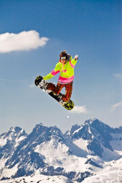 snowboarding, austria, mountain, rendl, spring, ae