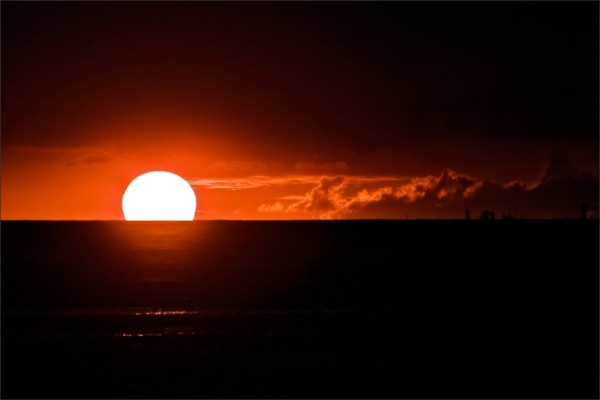 sunset at honolulu II
