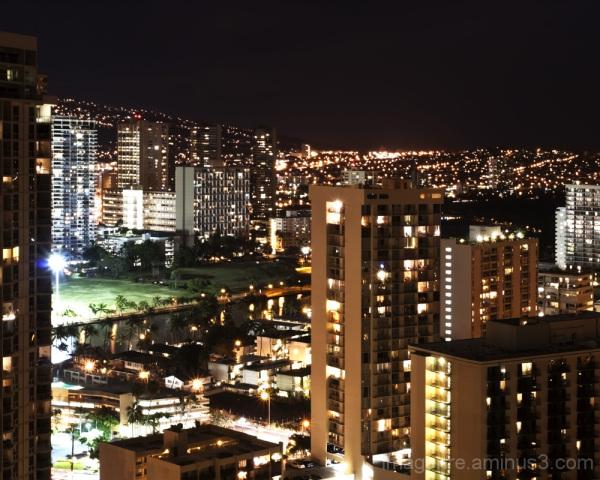 city night II