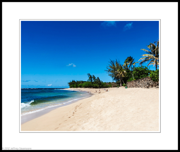north shore afternoon | blue skies, white sand...