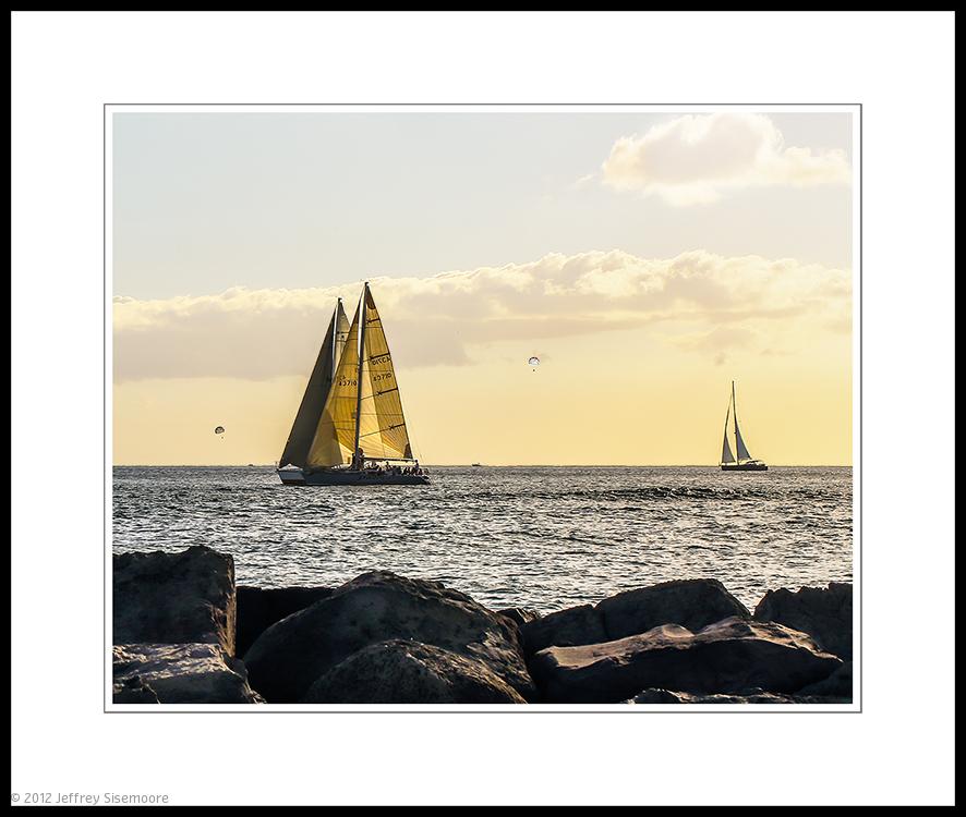 chutes and sails