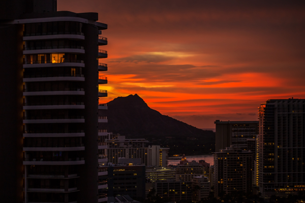 Good Morning, Diamond Head