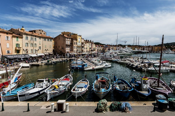 the boats of st. tropez