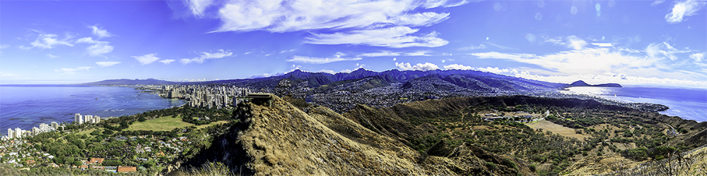 diamond head panorama