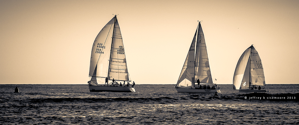 sailboats II
