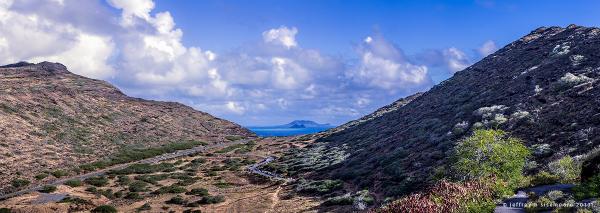 makapu'u landscape