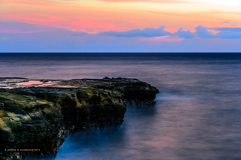 china wall outcrop