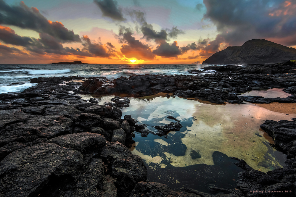 sunrise at makapu'u point