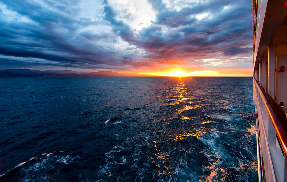 6:09 am - french coastline