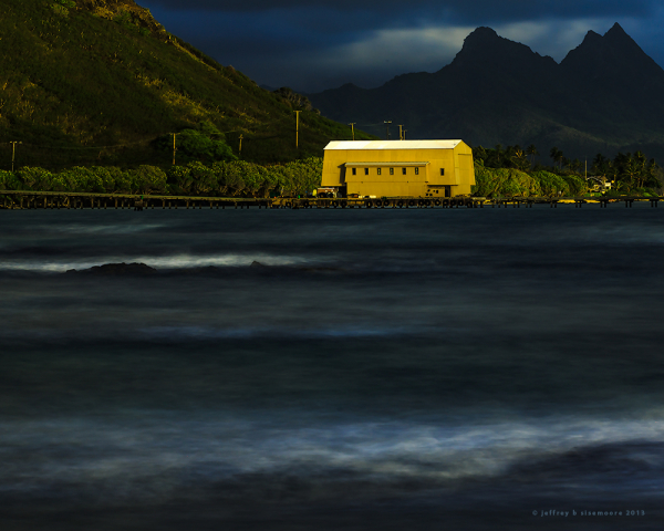 first light on the windward side
