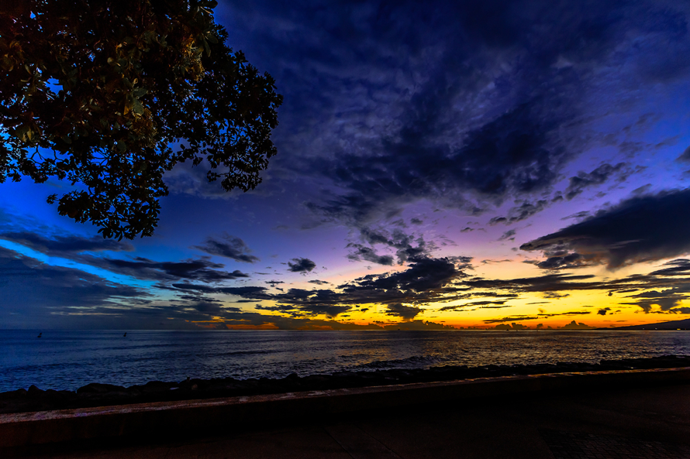 sunset prism