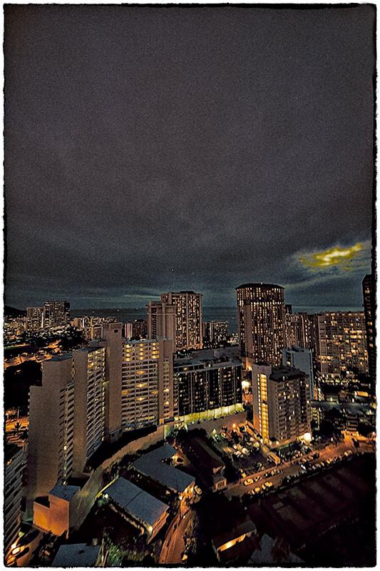 twilight in the city III