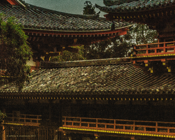 byodo-in temple (detail)