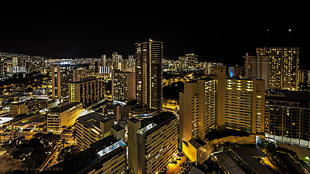 looking toward waikiki