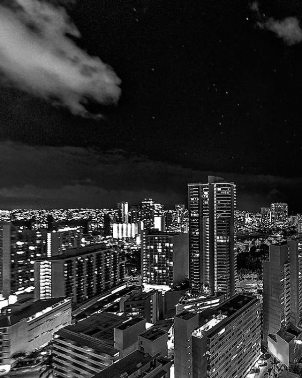 night over waikiki