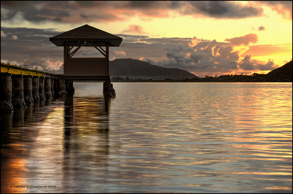 sunrise | kaneohe bay