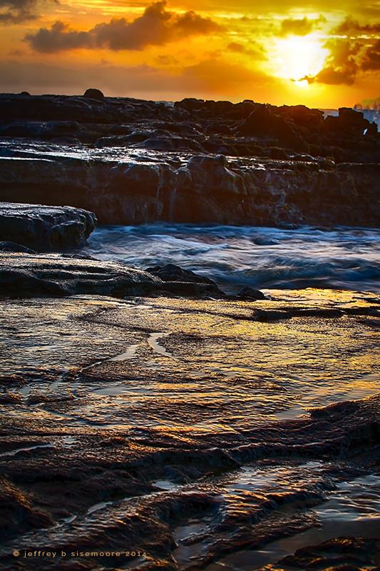 lava sunrise