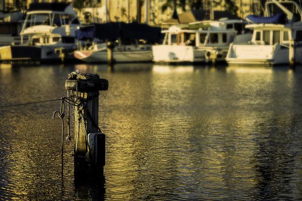 harbor pylon