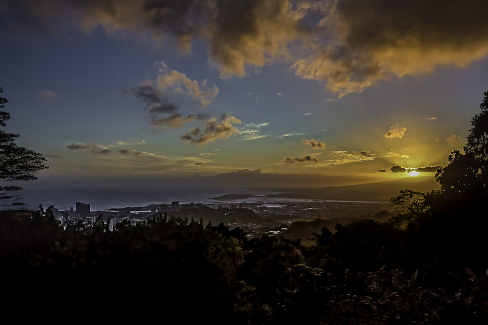 the view from tantalus
