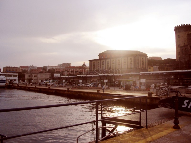 Castel Nuovo & Palazzo Reale by ferryboat
