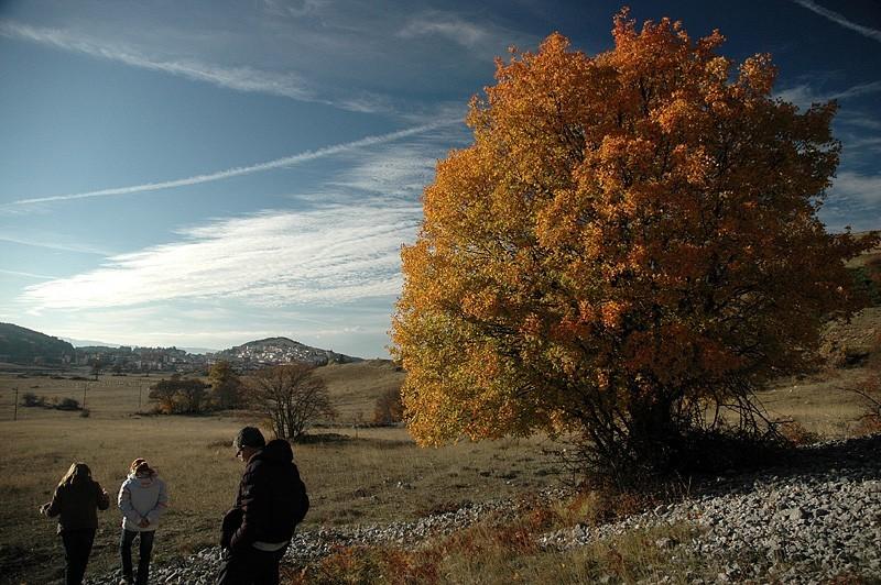 italian appennini landscape