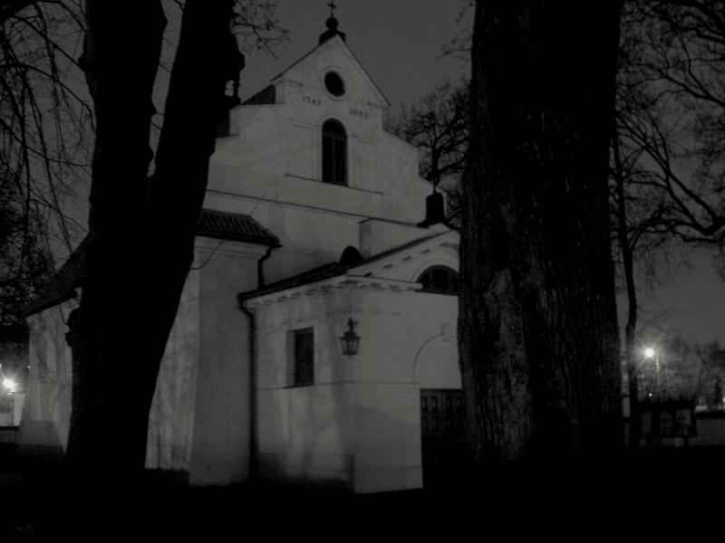 old Warsaw church