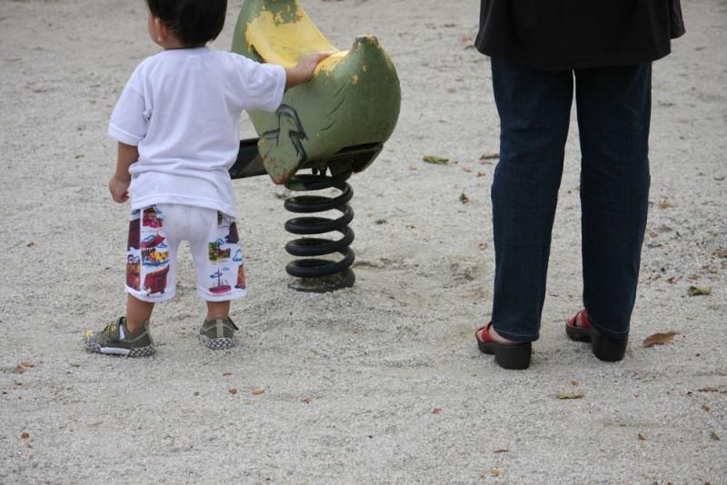 yaasir at playground