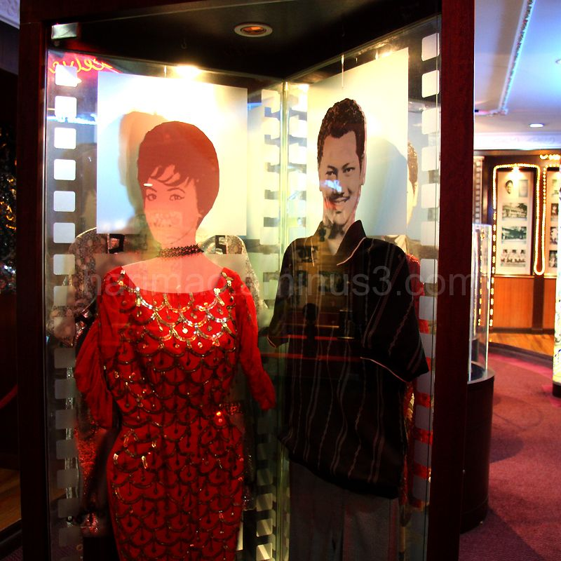 saloma and p ramlee's clothing
