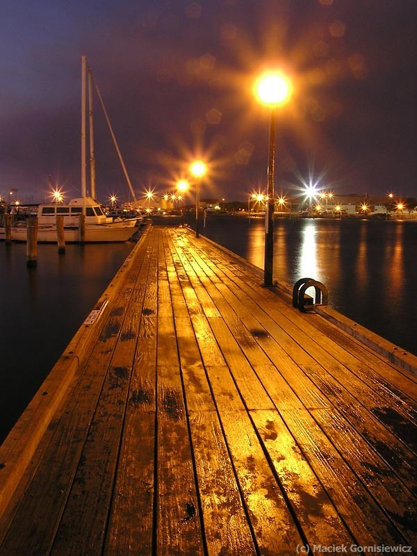 Sorrento Quay jetty in the evening.
