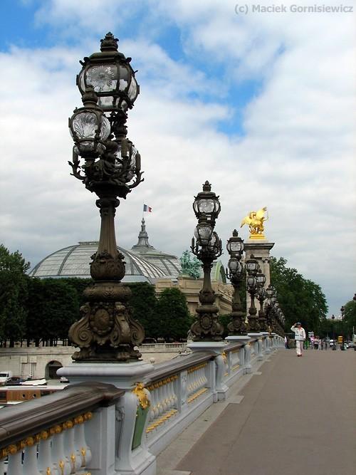 Le pont Alexandre III in Paris