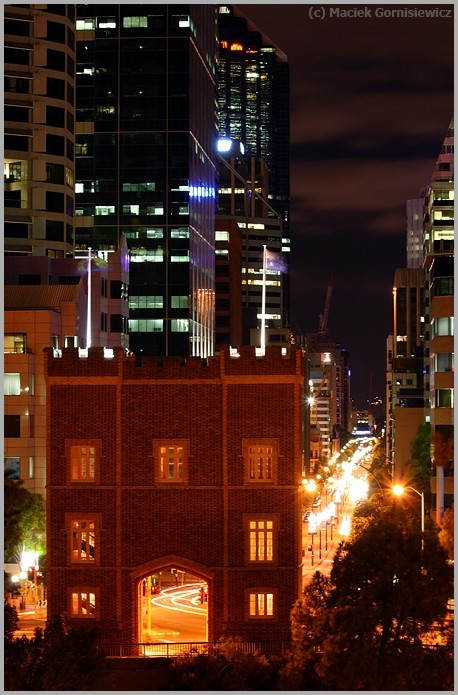 St Georges Terrace at Night