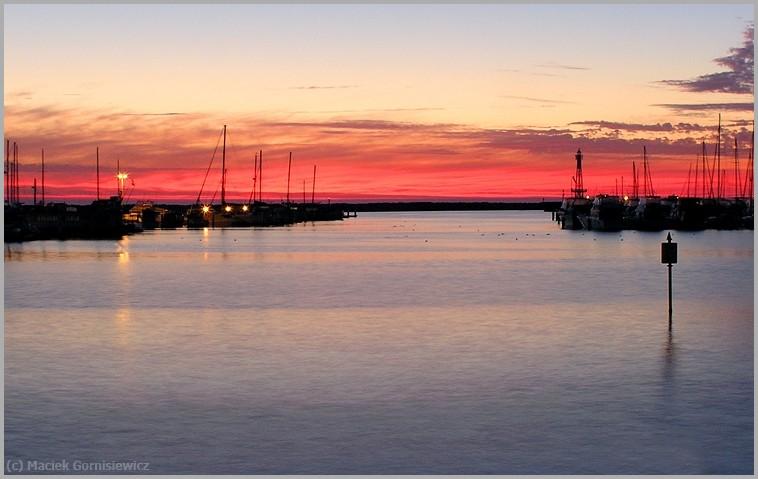 Sunset in Sorrento Marina