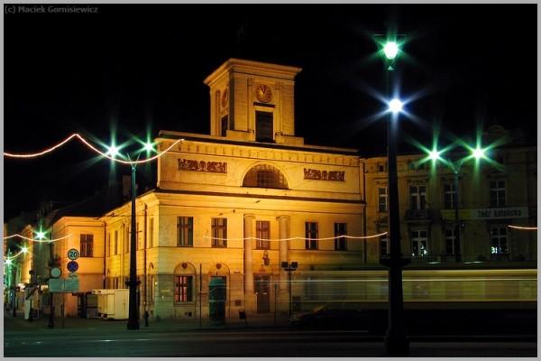 Plac Wolności at Night