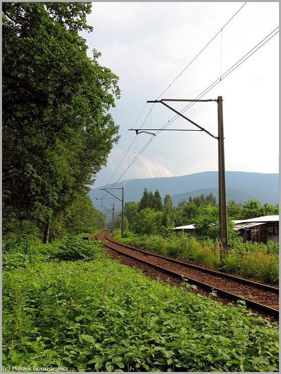 Railway near Czantoria