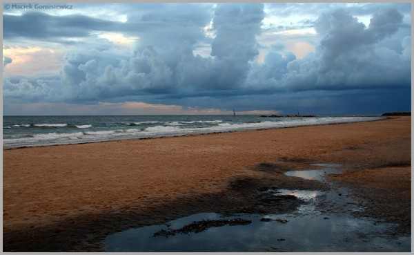 Evening Clouds at Glenelg
