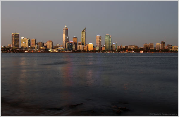 City of Perth at Dusk