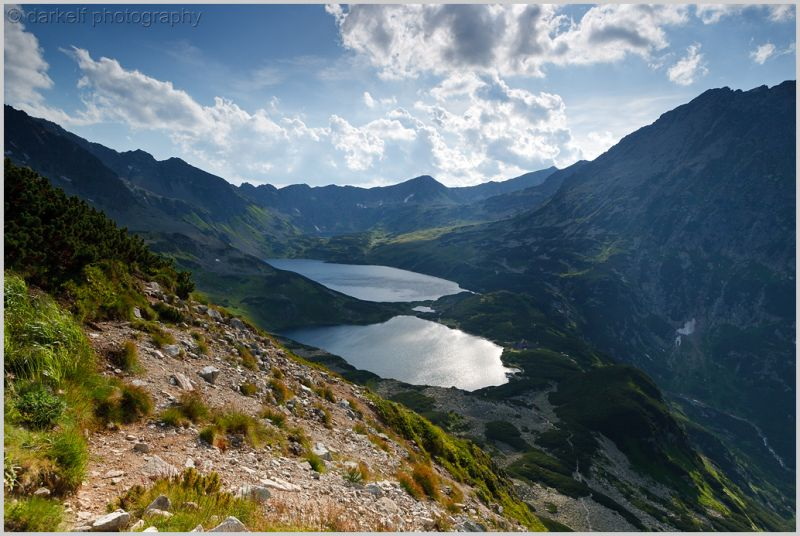 lakes in Tatry Mountains
