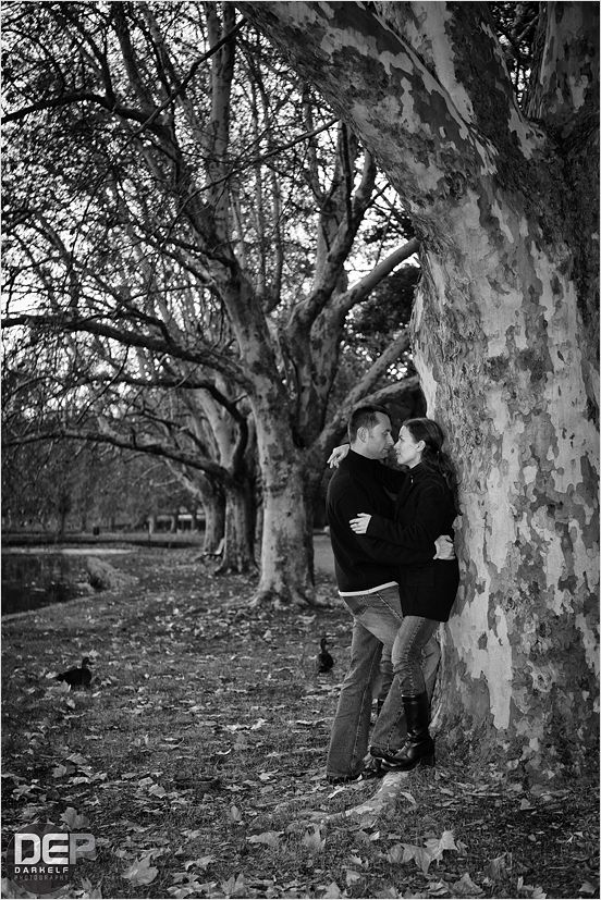 Couple in Hyde Park