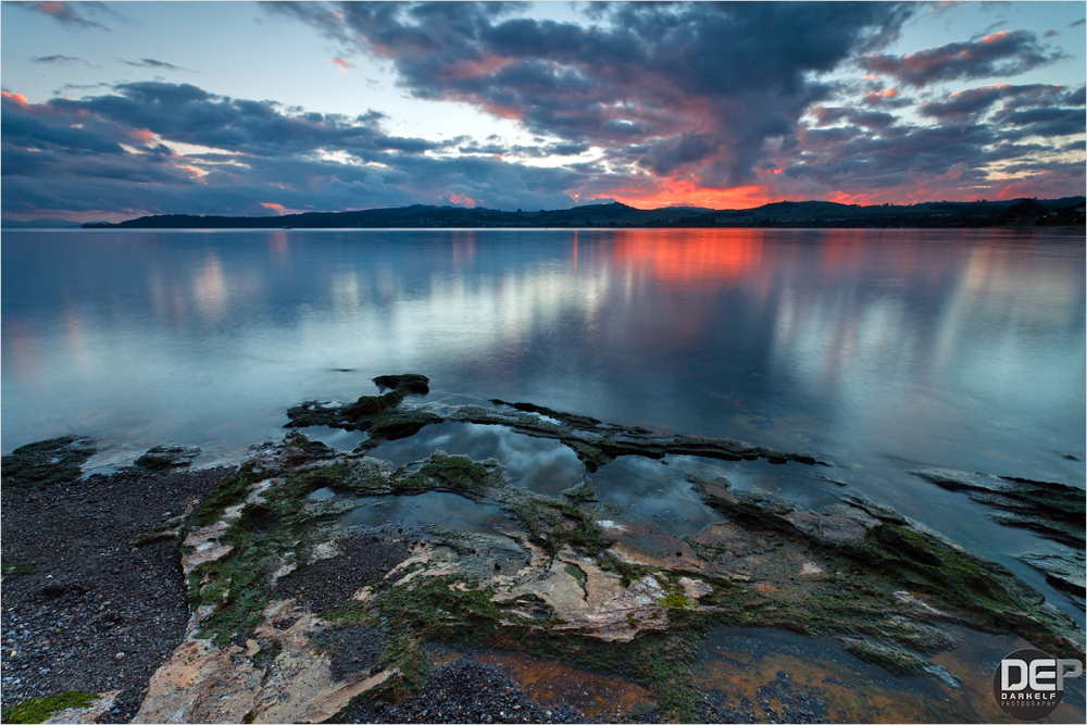 Taupo Sunset I